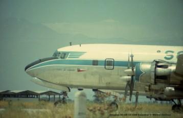 img227 Douglas DC-6B CC-CDH Solastral © Michel Anciaux