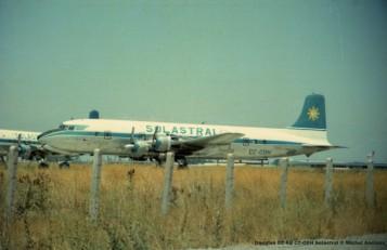 img228 Douglas DC-6B CC-CDH Solastral © Michel Anciaux