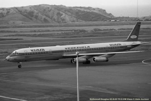 img873 McDonnell Douglas DC-8-63 YV-C-VIB Viasa © Alain Anciaux