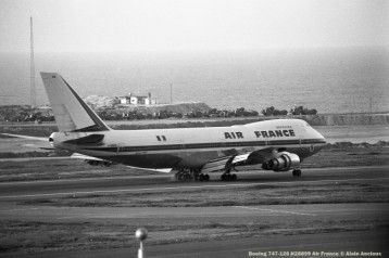 img877 Boeing 747-128 N28899 Air France © Alain Anciaux