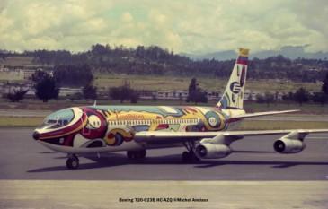 001 Boeing 720-023B HC-AZQ Ecuatoriana © Michel Anciaux