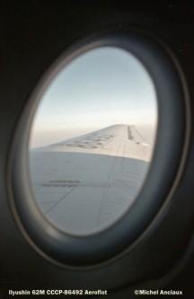 001Ilyushin 62M CCCP-86492 Aeroflot © Michel Anciaux