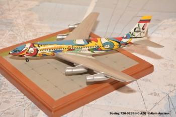 002 Boeing 720-023B HC-AZQ Ecuatoriana © Alain Anciaux