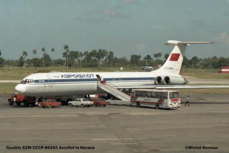 0041 Ylyushin 62M CCCP-86492 Aeroflot © Michel Anciaux