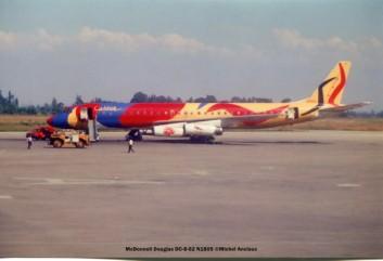005 McDonnell Douglas DC-8-62 N1805 Braniff Calder © Michel Anciaux