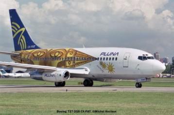 007 Boeing 737-2Q8 CX-FAT PLUNA © Michel Anciaux