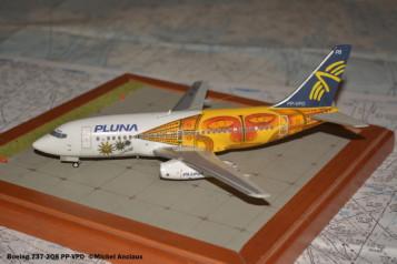 008 Boeing 737-2Q8 CX-FAT PLUNA © Michel Anciaux