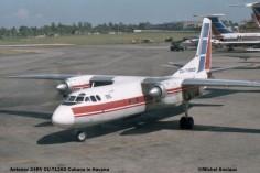 011 Antonov 24RV CU-T1260 Cubana © Michel Anciaux