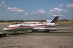 017 Tupolev Tu-154B-2 CU-T1222 Cubana © Michel Anciaux