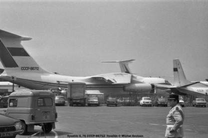 03 Ilyushin Il-76 CCCP-86712 Ilyushin © Michel Anciaux