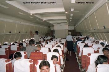033 Ilyushin 86 CCCP-86054 Aeroflot © Michel Anciaux