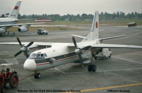048 ,Antonov 26 CU-T115 Aero Caribbean