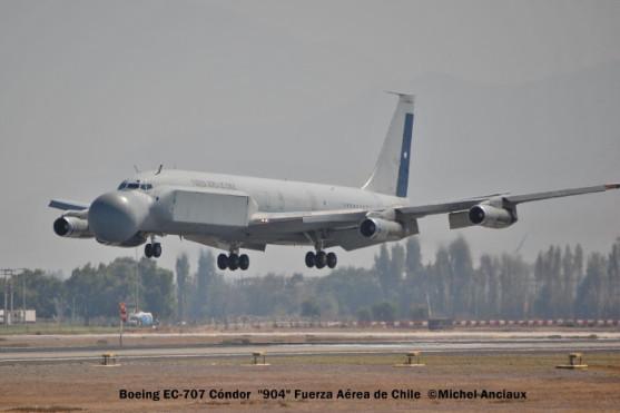 04Boeing EC-707 Cóndor ''904'' Fuerza Aérea de Chile © Michel Anciaux