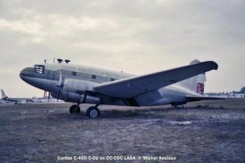 05 Curtiss C-46D-5-CU ex CC-CDC LASA © Michel Anciaux