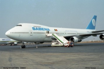 06 Boeing 747-128 F-BPVJ SABENA © Michel Anciaux