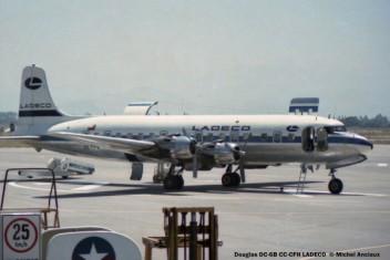 06 Douglas DC-6B CC-CFH LADECO © Michel Anciaux