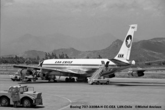 08 Boeing 707-330BA-H CC-CEA LAN-Chile © Michel Anciaux