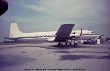 08 Douglas DC-6B N840TA Aircraft Corporation ex-CC-CFH © Michel Anciaux