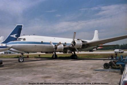 09 Douglas- DC-6BF N840TA International Flight Center Inc ex CC-CFH © Michel Anciaux