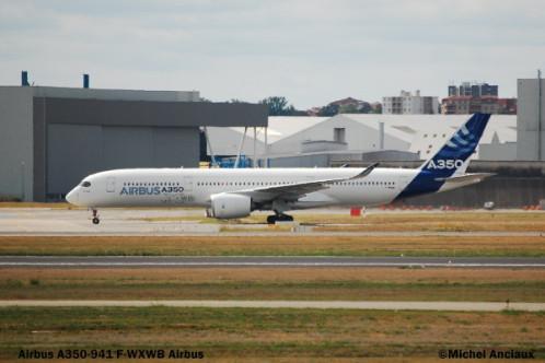 106 Airbus A350-941 F-WXWB Airbus © Michel Anciaux