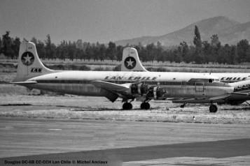 11 Douglas DC-6B CC-CCH LAN Chile © Michel Anciaux