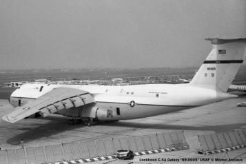 13 Lockheed C-5A Galaxy 69-0005 USAF © Michel Anciaux