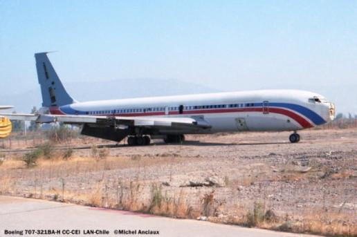 14 Boeing 707-321BA-H CC-CEI LAN-Chile © Michel Anciaux