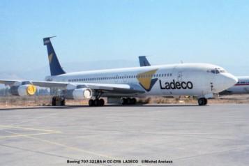 16 Boeing 707-321BA-H CC-CYB LADECO © Michel Anciaux