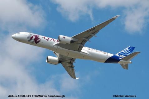 248 Airbus A350-941 F-WZNW © Michel Anciaux