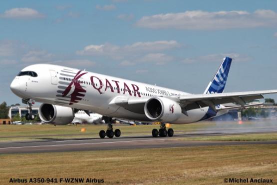 306 Airbus A350-941 F-WZNW © Michel Anciaux