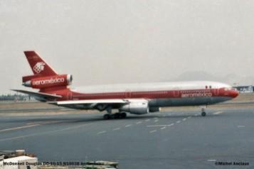 41 McDonnell Douglas- DC-10-15 N10038 Aeromexico © Michel Anciaux