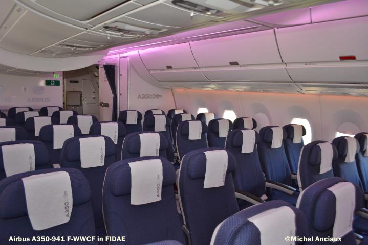 420 Airbus A350-941 F-WWCF © Michel Anciaux