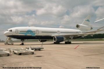 43 McDonnell Douglas DC-10-15 V2-SKY Aerowings © Michel Anciaux
