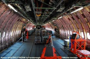 639 Cabin of Airbus A350-941 F-WZNW © Michel Anciaux