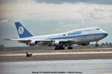 64 Boeing 747-329SCD OO-SGC SABENA