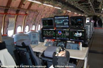 650 Cabin of Airbus A350-941 F-WZNW © Michel Anciaux