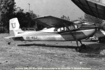84 Cessna 180 CC-KUJ © Michel Anciaux
