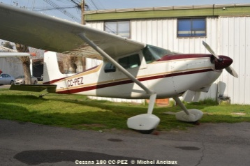 85 Cessna 180 CC-PEZ ex CC-KUJ © Michel Anciaux