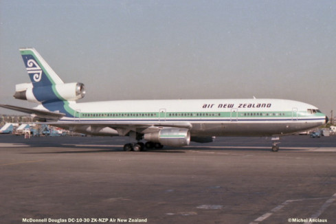 86 McDonnell Douglas- DC-10-30 ZK-NZP Air New Zealand © Michel Anciaux