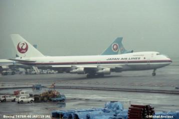 88 Boeing 747SR-46 JA8119 JAL © Michel Anciaux