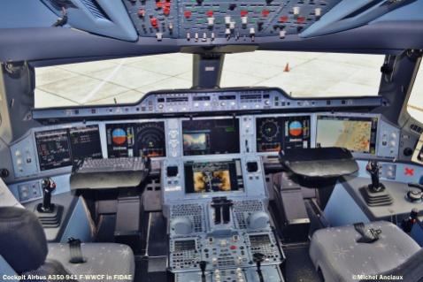 905 Airbus A350-941 F-WWCF © Michel Anciaux