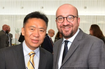 Charles Michel & Hou Wei VP Hainan Airlines
