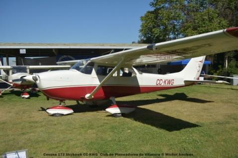 DSC_0016 Cessna 172 Skyhawk CC-KWG Club de Planeadores de Vitacura © Michel Anciaux