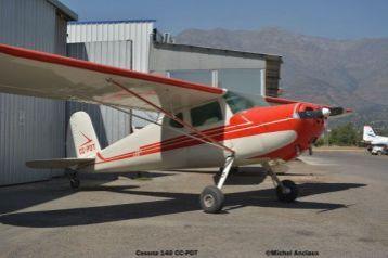 dsc_0044 Cessna 140 CC-PDT © Michel Anciaux