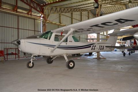 DSC_0065 Cessna 152 CC-TCA Megaparts S.A. © Michel Anciaux