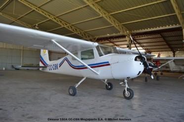 DSC_0077 Cessna 150A CC-CBK Megaparts S.A. © Michel Anciaux
