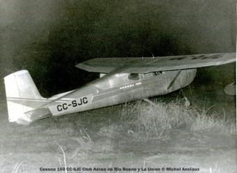 DSC_0078 Cessna 150 CC-SJC Club Aéreo de Rio Bueno y La Uníon © Michel Anciaux