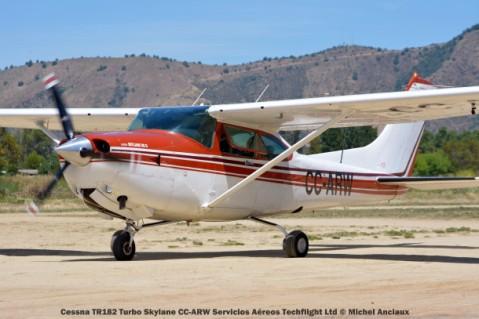 DSC_0142 Cessna TR182 Turbo Skylane CC-ARW Servicios Aéreos Techflight Ltd © Michel Anciaux