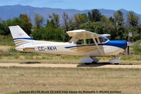 DSC_0180 Cessna R172K Hawk CC-AKH Club Aéreo de Melipilla © Michel Anciaux