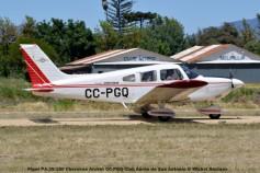 DSC_0191 Piper PA-28-180 Cherokee Archer CC-PGQ Club Aéreo de San Antonio © Michel Anciaux